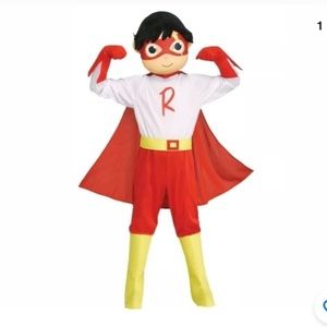 RYAN'S WORLDS BOY RED TITAN COSTUMES